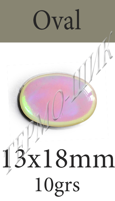Страз Color-Stone Oval 13x18mm