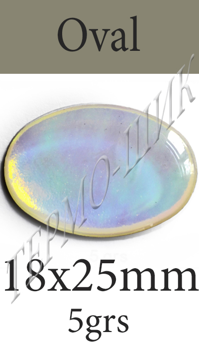 Страз Color-Stone Oval 18x25mm