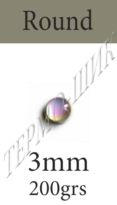Страз Color-Stone Round 3mm