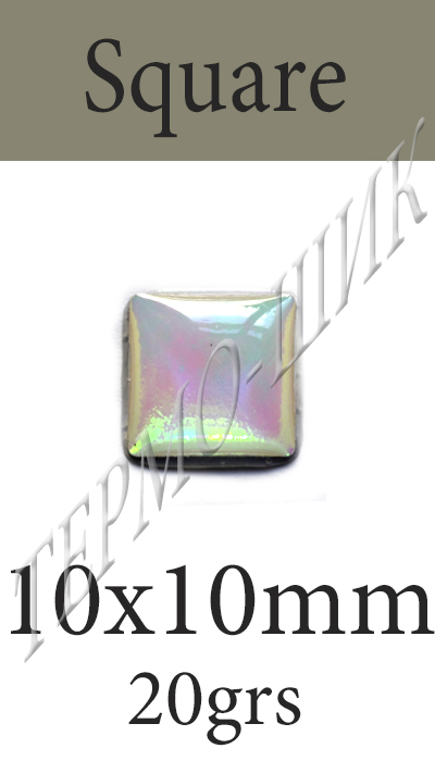 Страз Color Stone Square 10x10mm