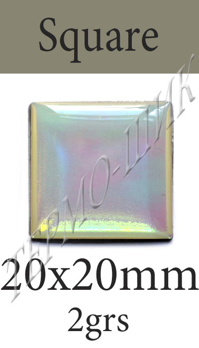 Страз Color Stone Square 20x20mm