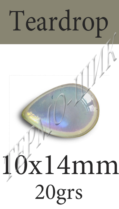 Страз Color-Stone Teardrop 10x14mm